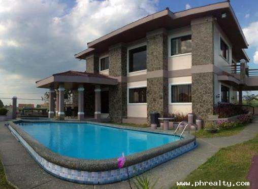 21 000 000 House And Lot For Sale In Tagaytay City With Swimming Pool House Lot For Sale In