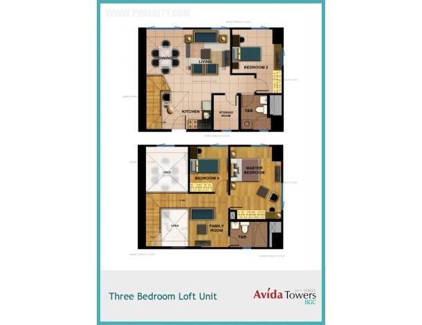 4 359 040 1 Bhk At Avida Towers 34th Street Bgc Condo For Sale In Taguig Metro Manila