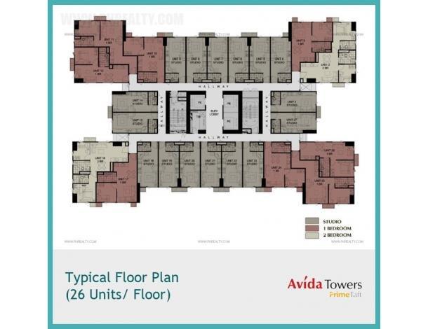 2 032 000 Studio Units At Avida Towers Prime Taft Condo For Sale In Pasay Metro Manila