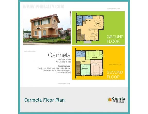 6 036 000 Camella Cerritos Carmela House Model House Lot For Sale In Bacoor Cavite