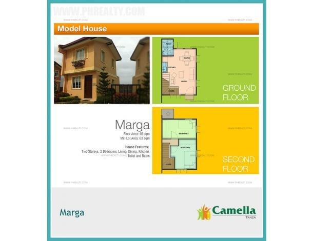 1 224 810 Camella Tanza Marga House Model House Lot For Sale In Tanza Cavite