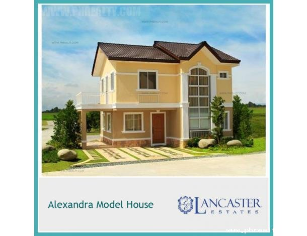 3 451 680 Lancaster New City Alexandra House Model House Lot For Sale In Imus Cavite