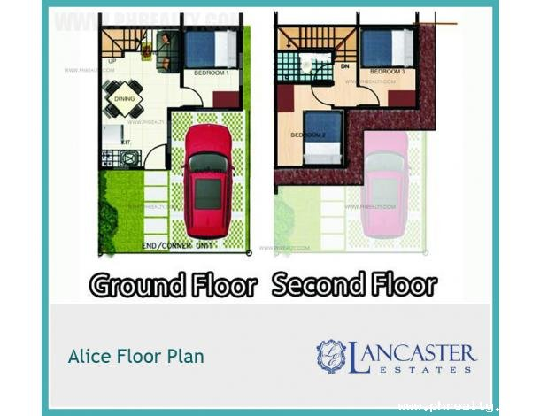 939 600 Lancaster New City Alice Townhouse House Lot For Sale In Imus Cavite